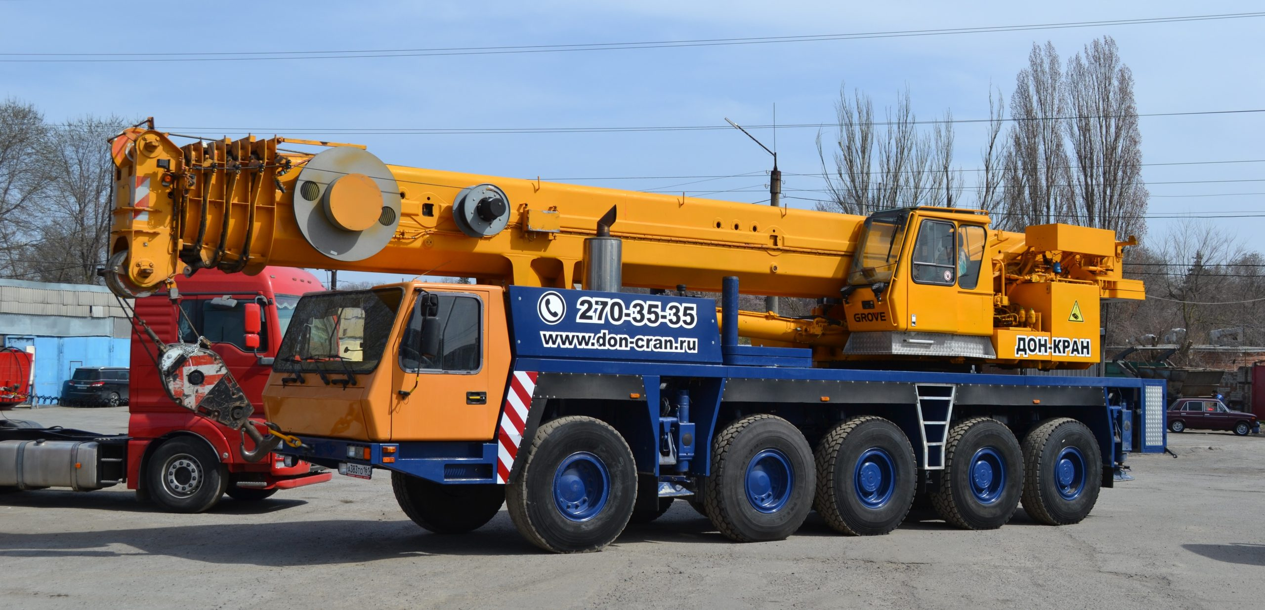 GROVE GMK 5100 100 тонн